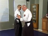 Aikido Wrist Grab Defenses : Aikido Wrist Grabs: Ikkyo
