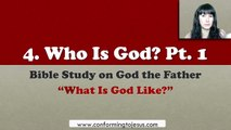 is God Pt.1 - Bible Study on God the Father
