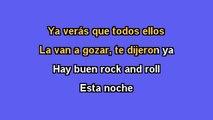 Karaoke Box - Buen Rock Esta Noche (Al Estilo De Los Teen Tops) - (Karaoke)
