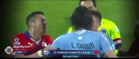 Expulsion de Edinson Cavani - Chile vs Uruguay 1-0 • Copa Am