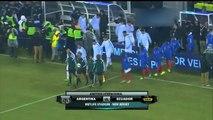 Argentina 2 - Ecuador 1. Amistoso Internacional 2015. Fútbol Para Todos.