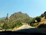 route vers Akchour Chefchaouen طريق أقشور شفشاون