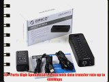 FOME ORICO P10-U2 10 Port External USB HUB Ultra Mini USB HUB for Laptop