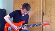 Instrumental Guitar Song #12 by Ryan Smith (With Rock Guitar Backing by MegaBackingTracks)