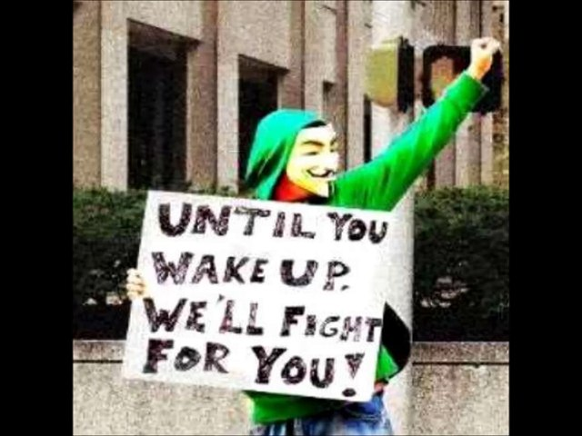Anonymous message to all for #ChildOfOurCity