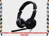 ROCCAT KULO Virtual 7.1 Surround Sound USB Gaming Headset Black