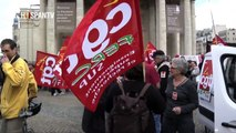 Manifestación contra la reforma universitaria del gobierno