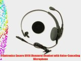 Plantronics Encore H91N Monaural Headset with Noise-Canceling Microphone