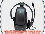 Logitech 980118 Cordless Freedom Headset for Internet Communications with NCAT2 and Boom Microphone