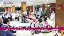 D. Ricardo Blázquez visita en Nochebuena las residencias Casa Beneficencia y Nª Sª del Carmen