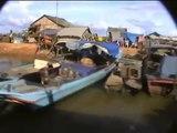 Cambodge Vidéo les villages du lac Tonlé-Sap (Cambodia Tonle-Sap lake)