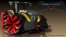 Worm-gear & spider leg simulation @ SolidWorks - video dailymotion