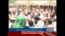 Shaheed Lt Col Iftikhar laid to rest with military honour