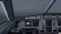 Condor Airbus A320 Landing in Monastir (aerosoft) - video