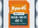 Eyefi 16GB Pro X2 SDHC Class 10 Wireless Flash Memory Card Frustration Free Packaging EYE-FI-16PC-FF