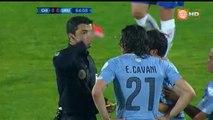 Edinson Cavani Red Card - Chile vs Uruguay 24.06.2015 (Copa America 2015)