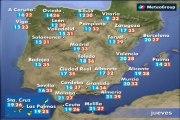 Previsión del tiempo para este jueves 25 de junio