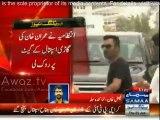 Imran Khan reach at JHK to meet Karachi heat wave victims