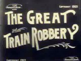 """""""The Great Train Robbery"""" Of 1903 By Thomas Edison Motion Picture Company"""