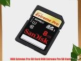 8GB Extreme Pro SD Card 8GB Extreme Pro SD Card