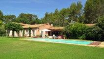 Vente Propriété Aix-en-Provence  -  Vue montagne Sainte Victoire - 300 m² sur Parc avec Piscine