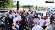 Les taxis bloquent les accès à l'aéroport Marseille-Provence