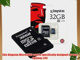 Professional Kingston 32GB MicroSDHC Card for LG Optimus L70 with custom formatting and Standard