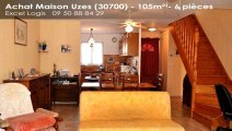A vendre - Maison/villa - Uzes (30700) - 6 pièces - 105m²