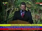 Presidente Chávez entrega títulos a Médicos Generales Integrales y Cirujanos
