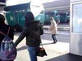 SILVIO BERLUSCONI in Stazione NAPOLI