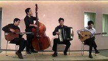 "Accordion and Guitar Quartet "" Minor Swing "" - Gypsy Swing -"