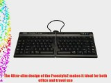Kinesis Corporation KB800HMB-US-20 The Extended Version Of The Kinesis Freestyle2 For Mac Keyboard
