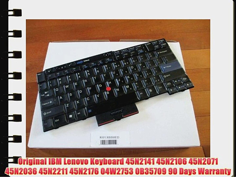 KEYBOARD IBM T400S T410 T420 T510 W510 45N2141 45N2211 45N2071 04W2753