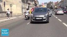 Opération escargot de la CGT dans les rues de Troyes pour l'augmentation des salaires