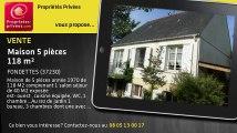 A vendre - maison - FONDETTES (37230) - 5 pièces - 118m²