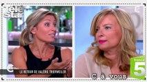 """C à vous : Valérie Trierweiler """"ne fait pas de politique"""""""