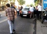 Agression d'un chauffeur Uber par des taxis à Paris 10e