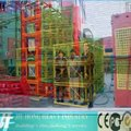 Rack and Pinion Construction Elevator Lift,Material and Passenger Hoist,Man and Goods Vertical Lift