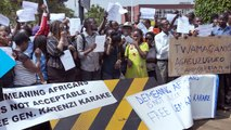 Rwandans Protest as Spy Chief Faces London Court on War Crimes Charges