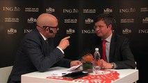Jan Peter Balkenende in gesprek met Lars Sorensen op de Week van de Ondernemer 2013