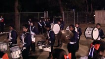 Chatsworth High School Marching Band and Drill Team Drum off with Reseda High Marching Band 09/19/14