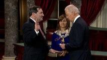 Swearing in of Senator Joe Donnelly (D-Ind.)