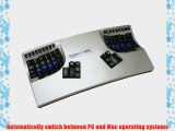 Kinesis Corporation Kb510usb-met Kinesis Contoured Keyboards Are The Best Available Design