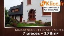 A vendre - VEULETTES SUR MER (76450) - 7 pièces - 178m²