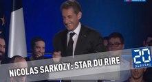 Nicolas Sarkozy : Star du stand up