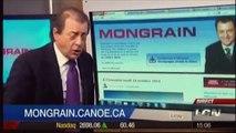 Jean-Luc Mongrain et sa petite danse avançons/reculons des libéraux de Jean Charest