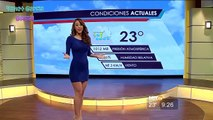 Yanet Garcia la Miss Météo la plus sexy du Mexique