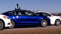 Ford Fusion Hybrid research vehicle Driving Video