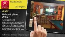 A vendre - maison - MARINES (95640) - 6 pièces - 290m²