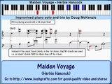 'Maiden Voyage' (Herbie Hancock) - jazz piano lesson